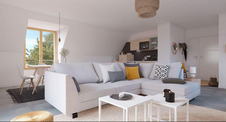 Résidence « Art Déco » programme immobilier neuf en Loi Pinel à Tours n°3