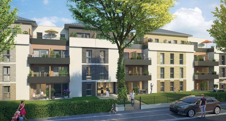 Résidence « Imagine » programme immobilier neuf en Loi Pinel à Tours n°2
