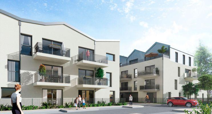 Tours : programme immobilier neuf « Le Diapason Tr. 1 » en Loi Pinel