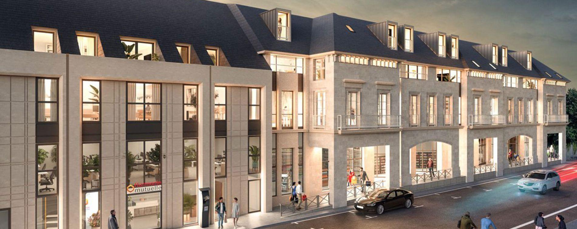 Tours : programme immobilier à rénover « L'Hôtel des Arts » en Loi Malraux