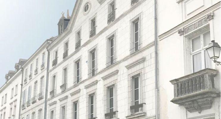 Résidence « L'Imprimerie » programme immobilier à rénover en Loi Malraux à Tours
