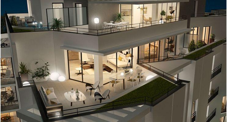 Résidence « Luminance » programme immobilier neuf en Loi Pinel à Tours n°3