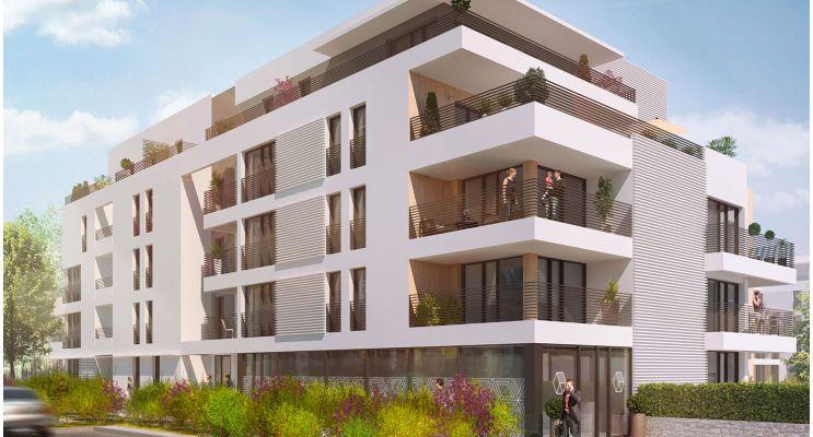 Résidence « O2 Loire » programme immobilier neuf en Loi Pinel à Tours n°1