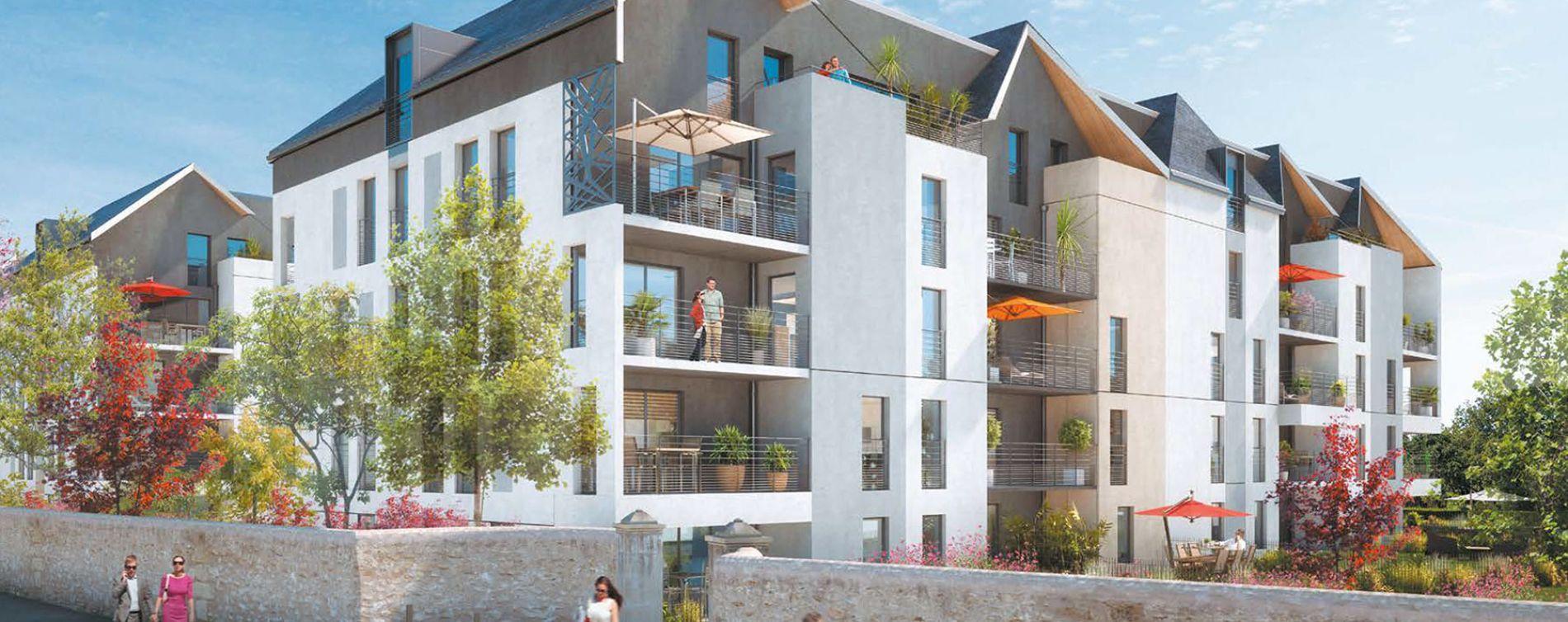 Tours : programme immobilier neuve « Parc Avenue »