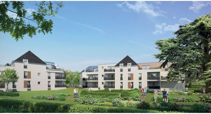 Photo n°3 du Résidence « Saint-Cosme » programme immobilier neuf en Loi Pinel à Tours