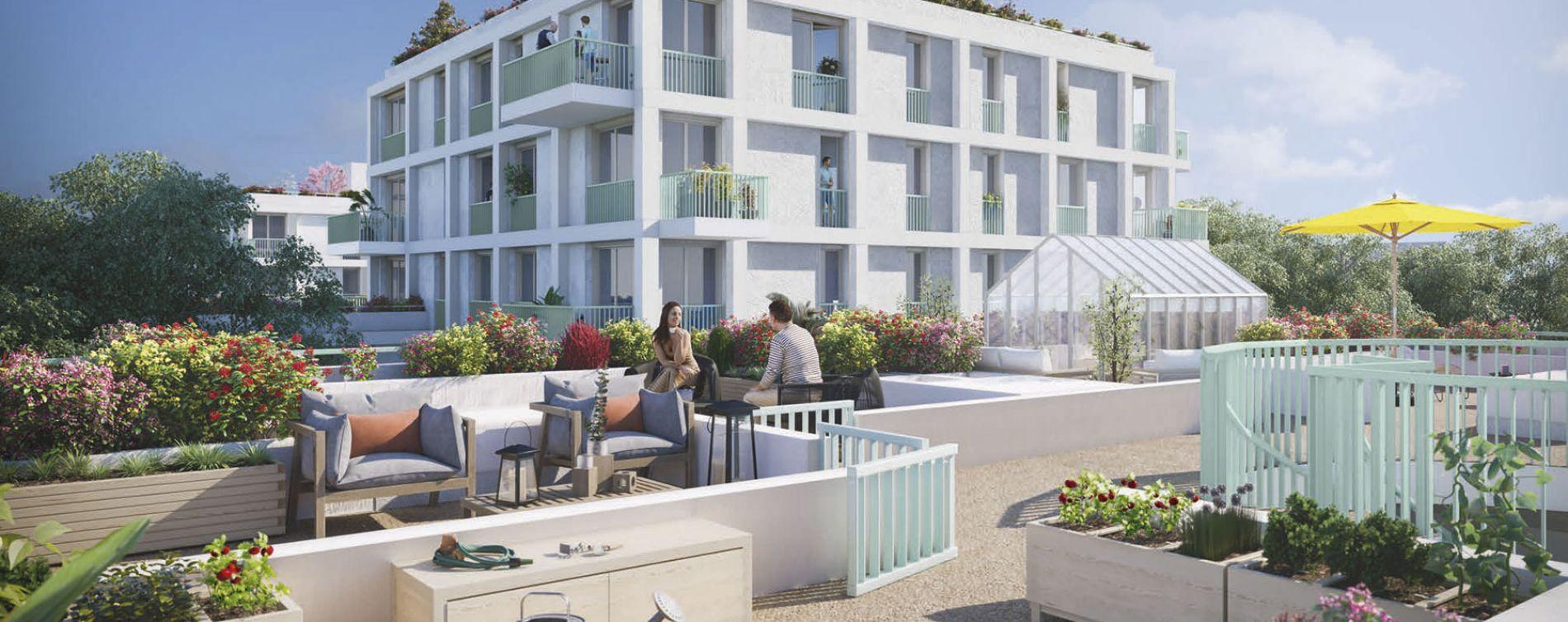 Tours : programme immobilier neuve « Tempo » en Loi Pinel