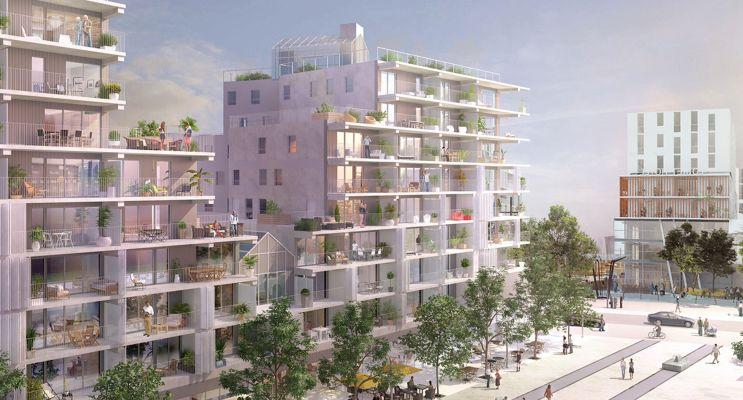 Fleury-les-Aubrais : programme immobilier neuf « Luminescence » en Loi Pinel