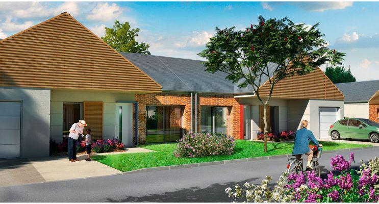 Meung-sur-Loire : programme immobilier neuf « La Promenade des Moulins »