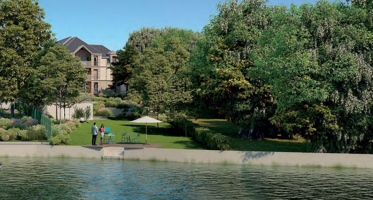 Photo du Résidence « Parc Belles Rives » programme immobilier neuf en Loi Pinel à Olivet