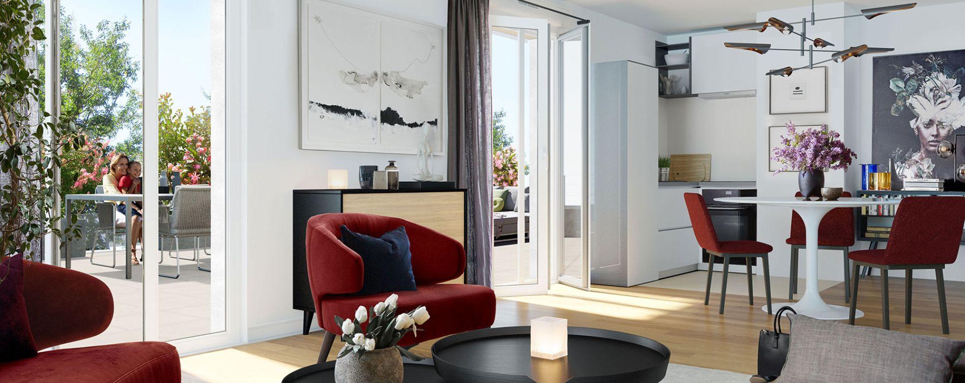 Orléans : programme immobilier neuve « Belle Allure » en Loi Pinel (3)