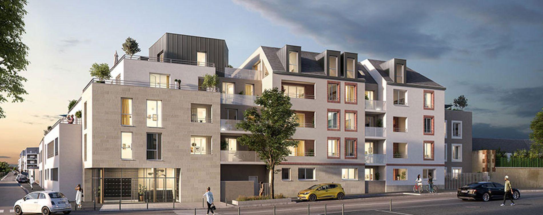 Orléans : programme immobilier neuve « Esprit Faubourg » en Loi Pinel