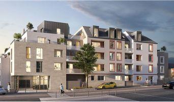 Orléans : programme immobilier neuf « Esprit Faubourg » en Loi Pinel