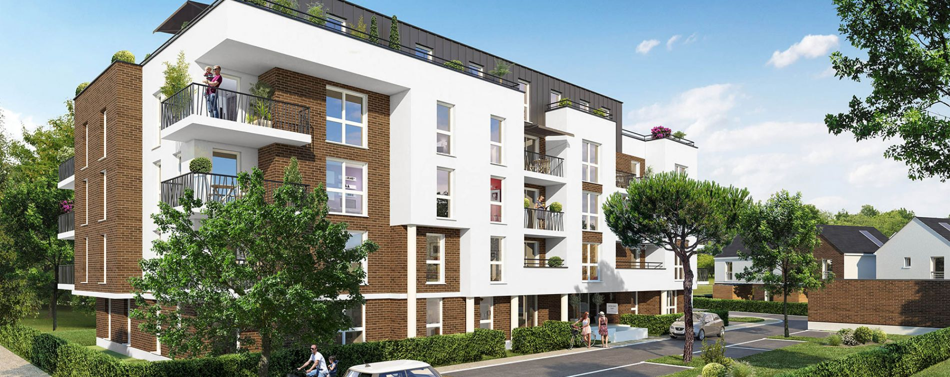Orléans : programme immobilier neuve « Le Clos Saint Louis » en Loi Pinel