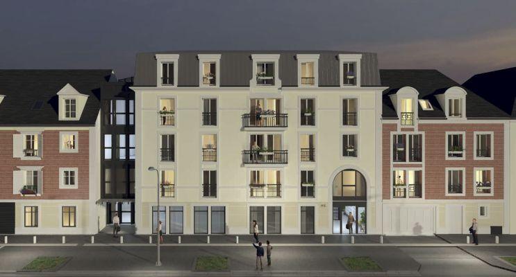 Orléans : programme immobilier neuf « Le Parc Dauphine » en Loi Pinel