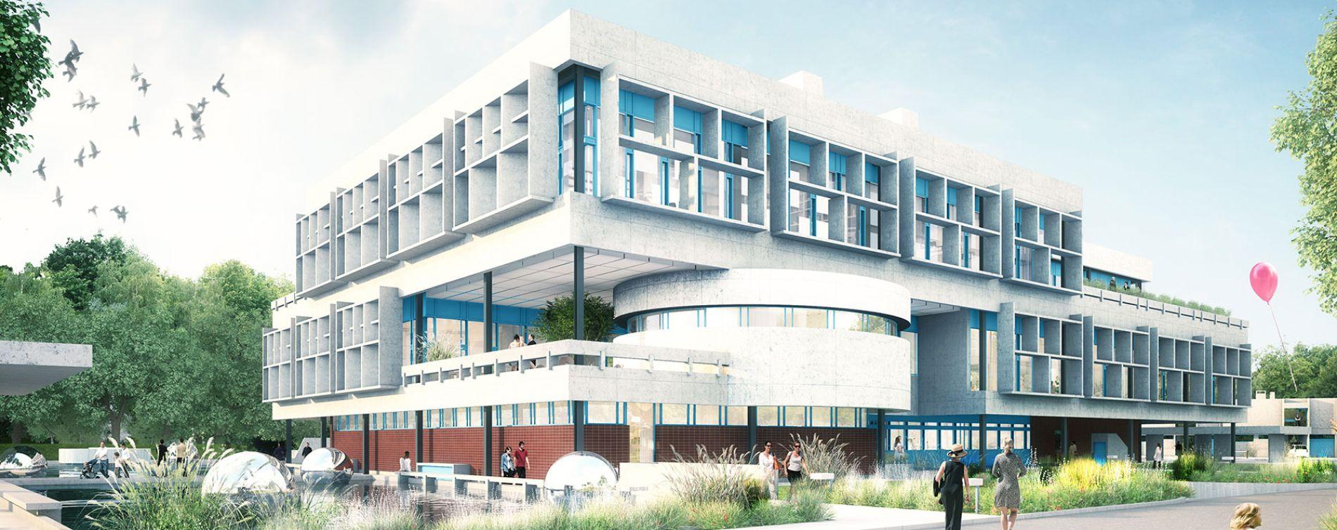 Orléans : programme immobilier neuve « Le Siti » (2)