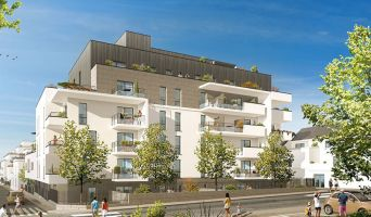 Photo du Résidence « Les Terrasses de la Reine Blanche » programme immobilier neuf en Loi Pinel à Orléans
