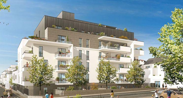 Résidence « Les Terrasses De La Reine Blanche » programme immobilier neuf en Loi Pinel à Orléans