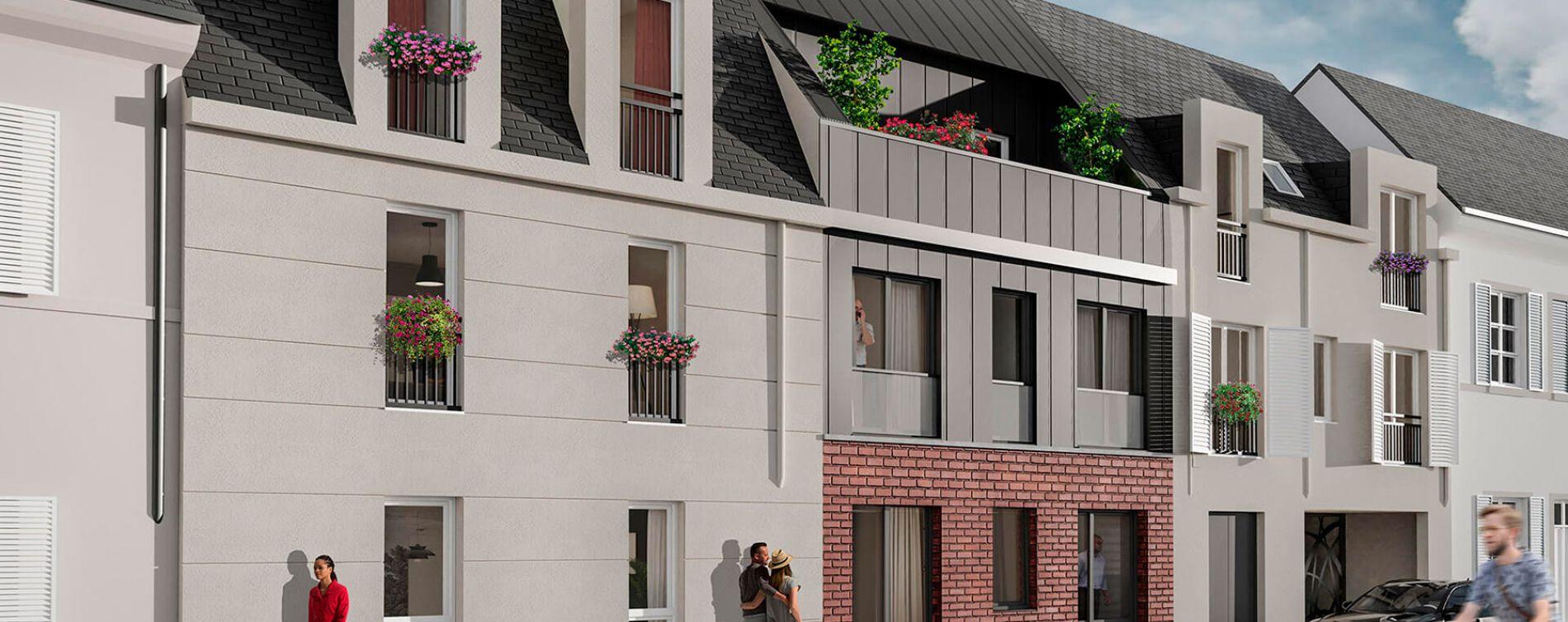 Orléans : programme immobilier neuve « Villa Aurélia » en Loi Pinel