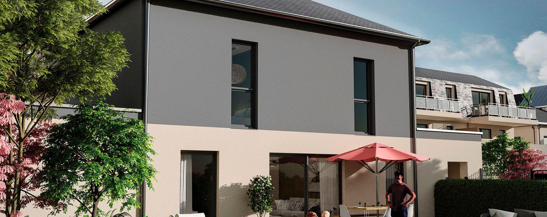 Orléans : programme immobilier neuve « Villa Aurélia » en Loi Pinel (2)