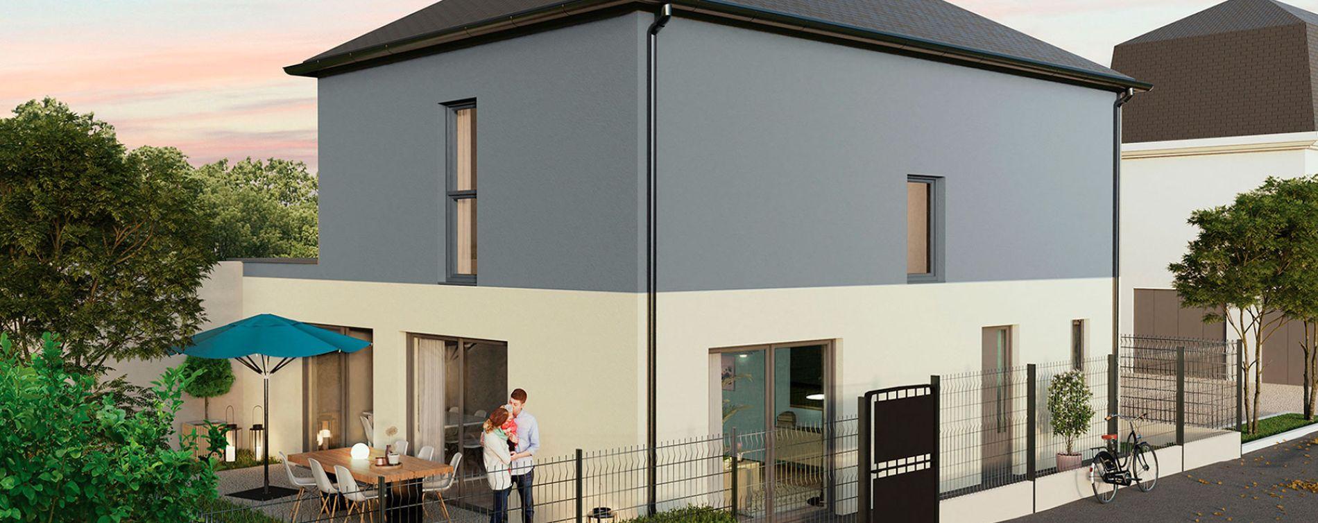 Orléans : programme immobilier neuve « Villa Aurélia » en Loi Pinel (3)