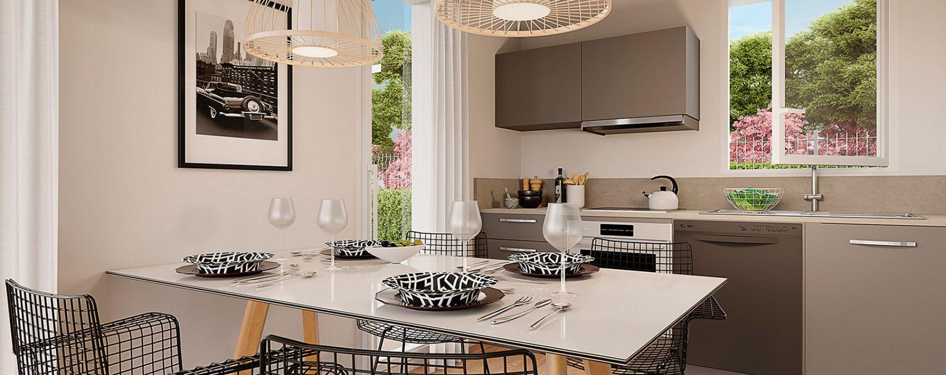 Orléans : programme immobilier neuve « Villa Aurélia » en Loi Pinel (4)