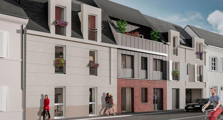 Orléans : programme immobilier neuf « Villa Aurélia » en Loi Pinel