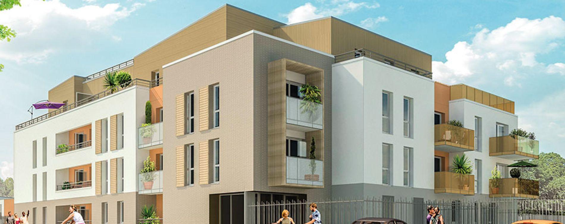 Saint-Jean-de-Braye : programme immobilier neuve « Edène » (2)