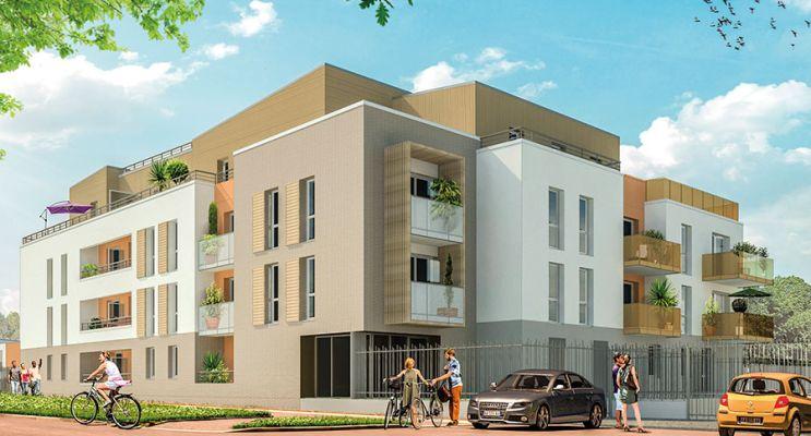 Résidence « Edène » programme immobilier neuf en Loi Pinel à Saint-Jean-de-Braye n°2
