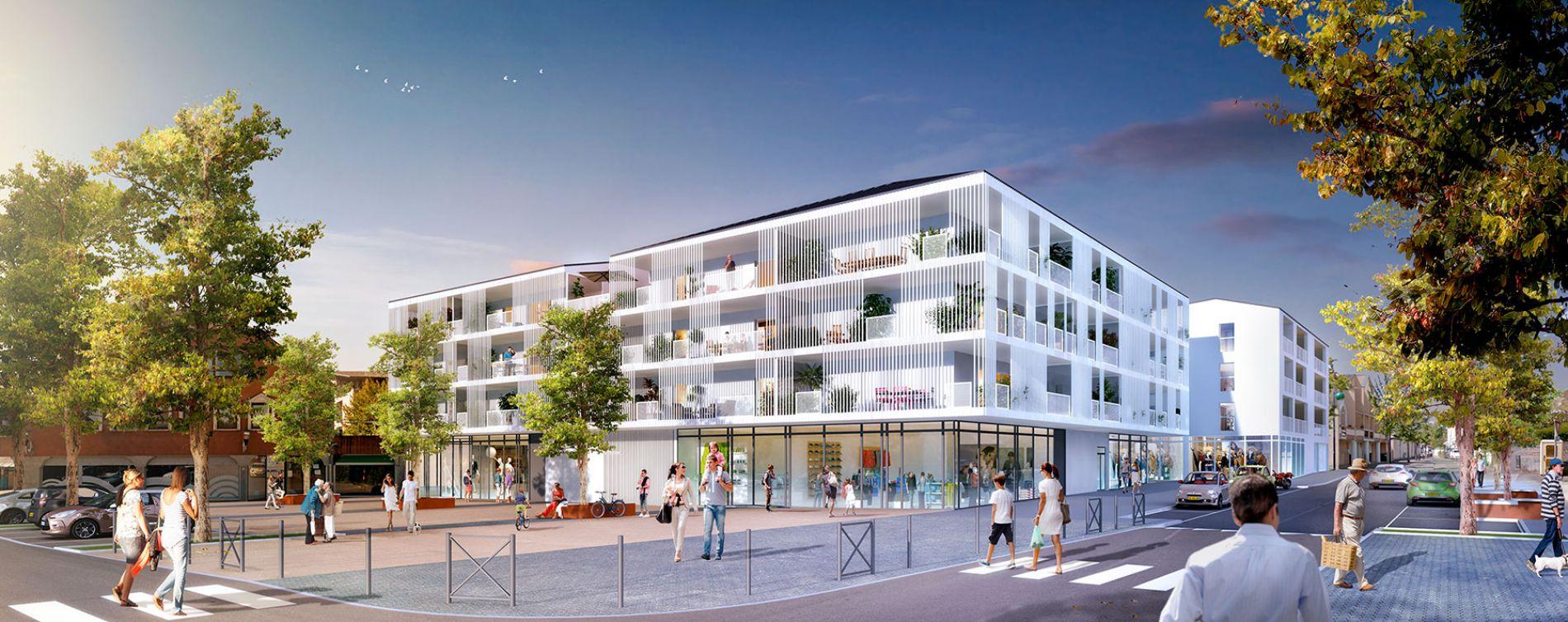 Saint-Jean-de-Braye : programme immobilier neuve « Emergence » en Loi Pinel