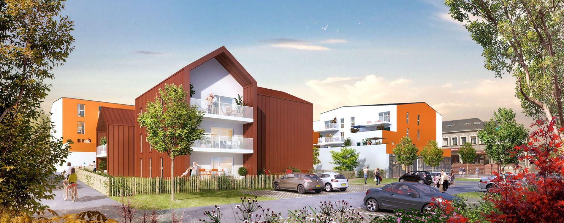 Saint-Jean-de-Braye : programme immobilier neuve « Emergence » en Loi Pinel (2)