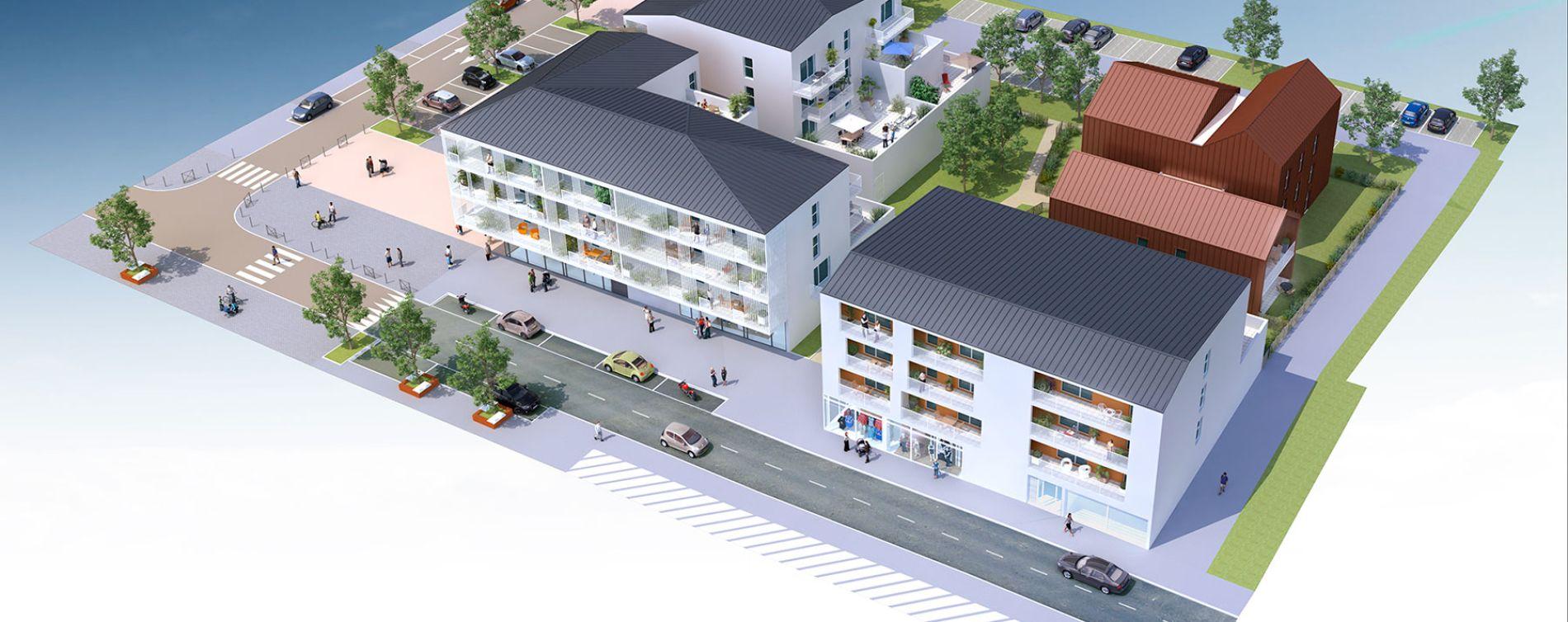 Saint-Jean-de-Braye : programme immobilier neuve « Emergence » en Loi Pinel (3)