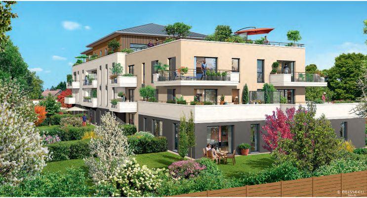 Photo du Résidence « Harmonie de Loire » programme immobilier neuf en Loi Pinel à Saint-Jean-de-Braye