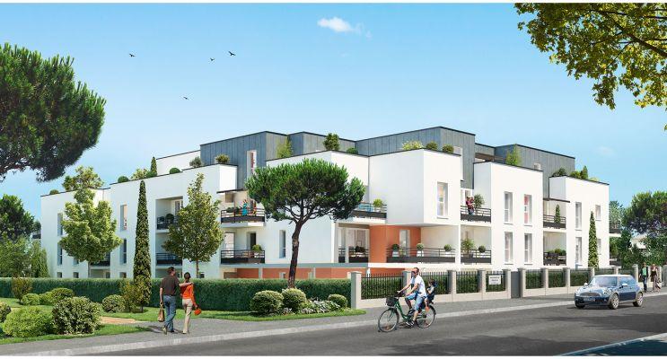 Résidence « Opaline » programme immobilier neuf en Loi Pinel à Saint-Jean-de-Braye
