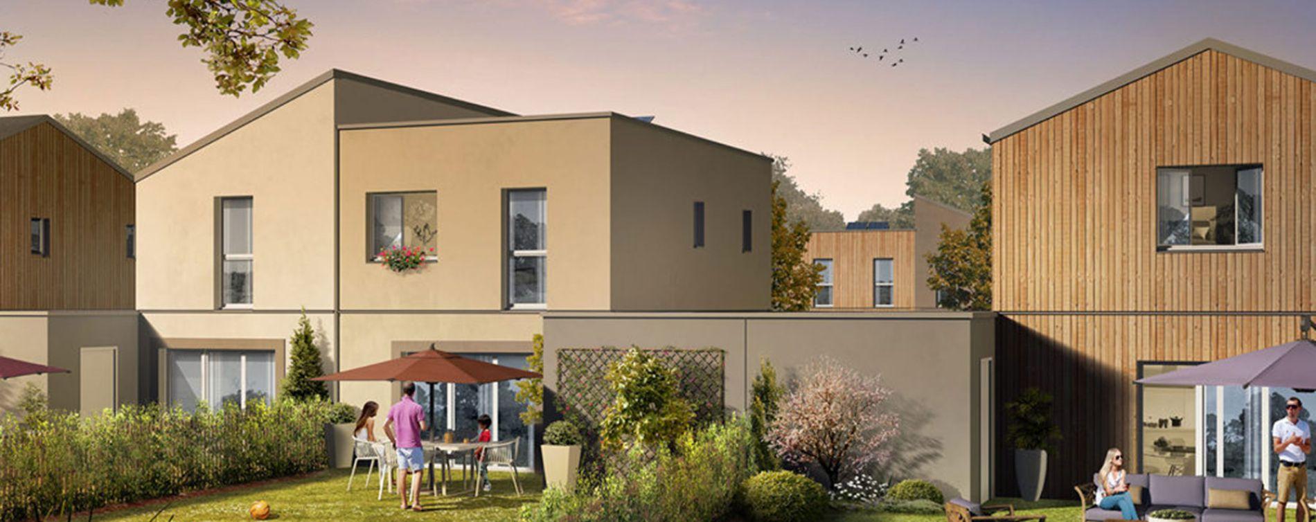Saint-Jean-de-la-Ruelle : programme immobilier neuve « Le Clos du Petit Bois »