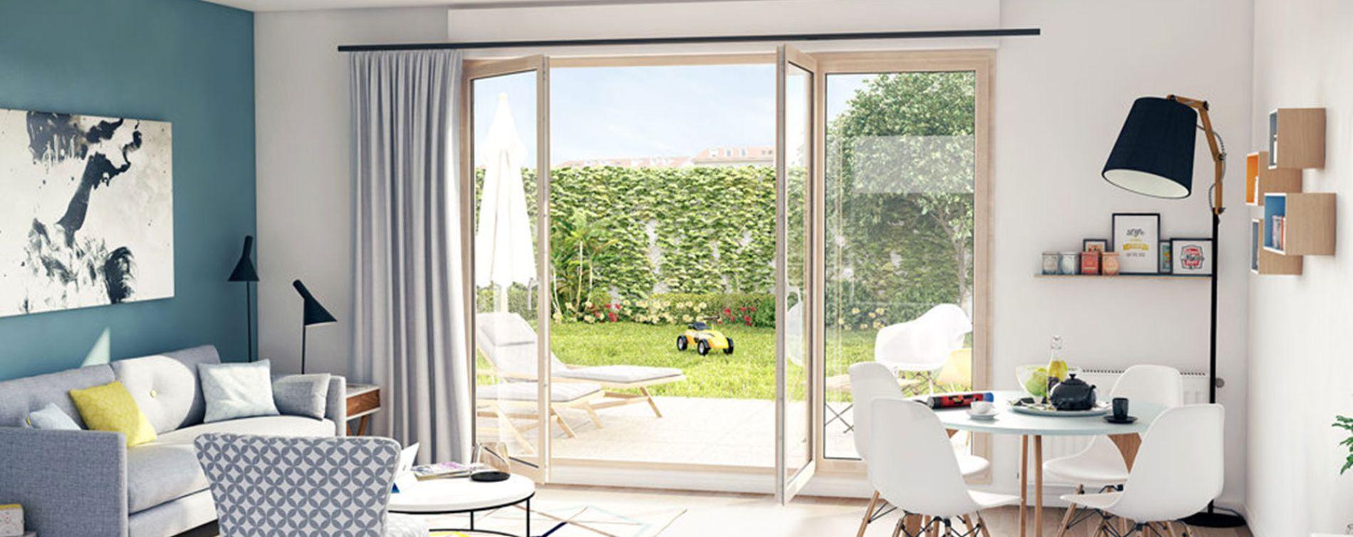 Saint-Jean-de-la-Ruelle : programme immobilier neuve « Le Clos du Petit Bois » (2)