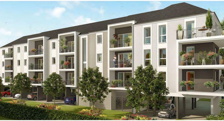 Photo du Résidence « Zeppelin » programme immobilier neuf en Loi Pinel à Saint-Jean-le-Blanc