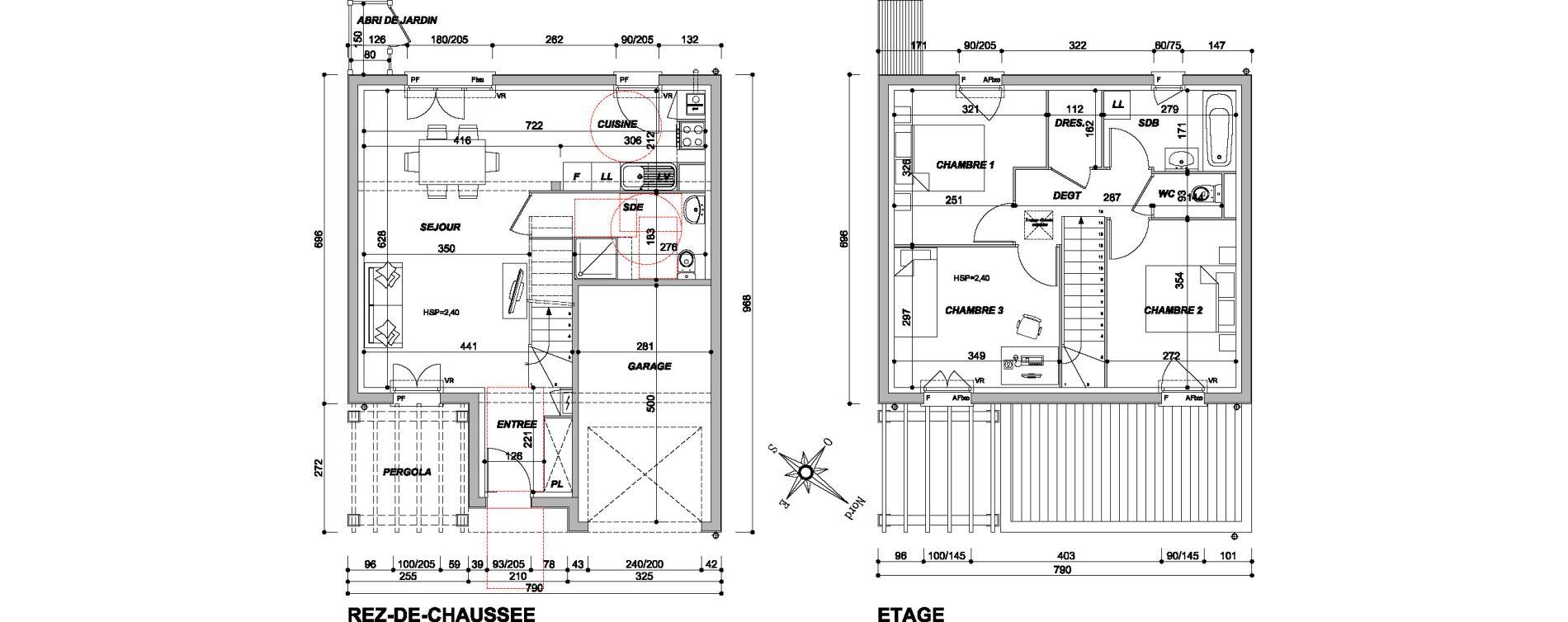 Maison T4 de 80,27 m2 à Saran Centre