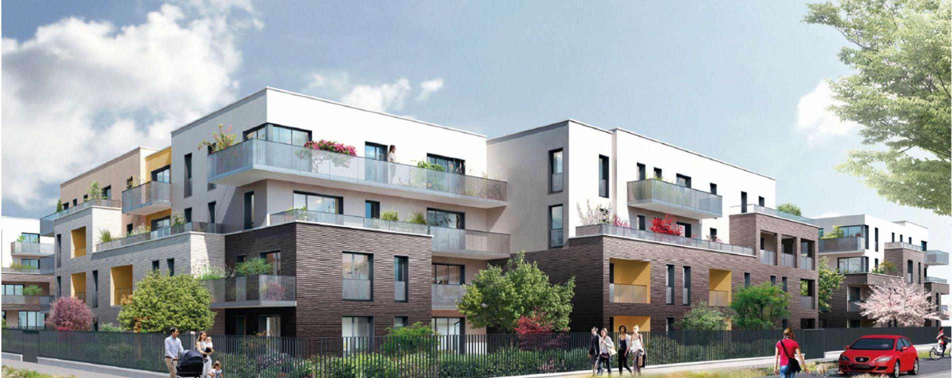 Saran : programme immobilier neuve « Les Fleurs d'O » en Loi Pinel