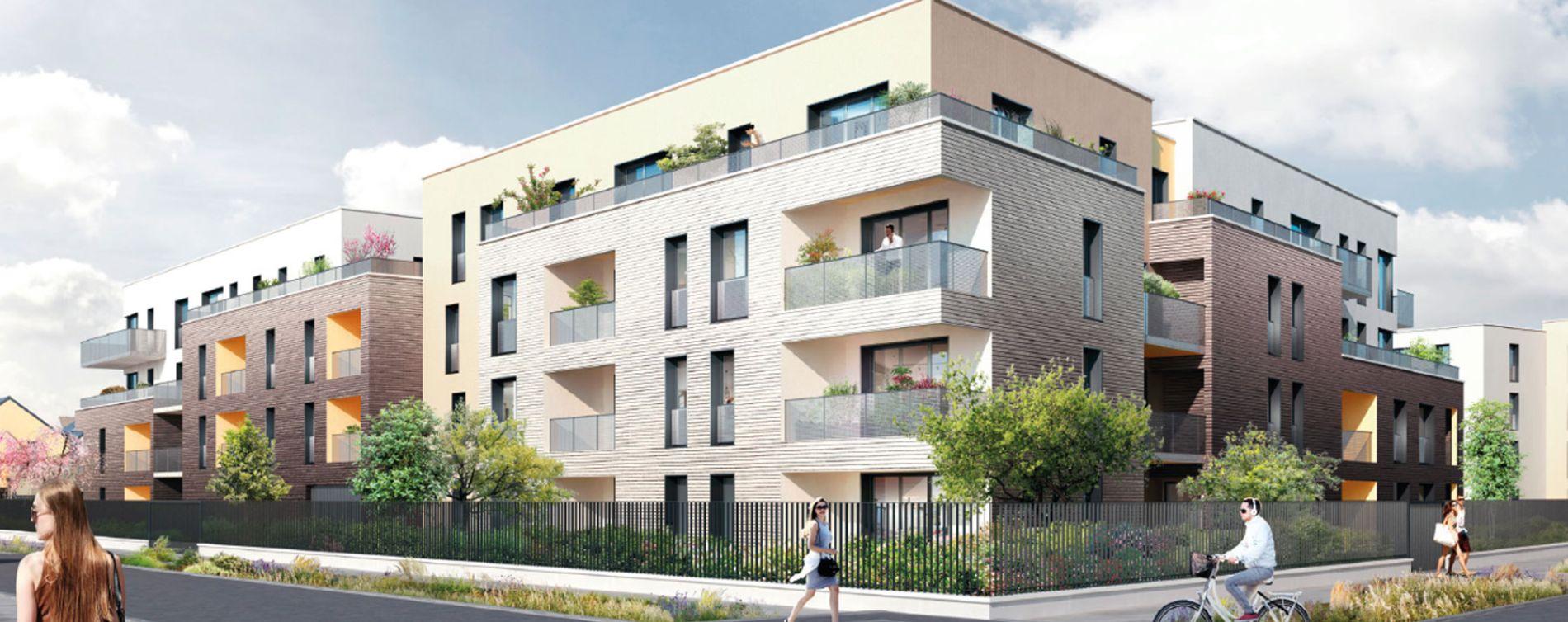 Saran : programme immobilier neuve « Les Fleurs d'O » en Loi Pinel (2)