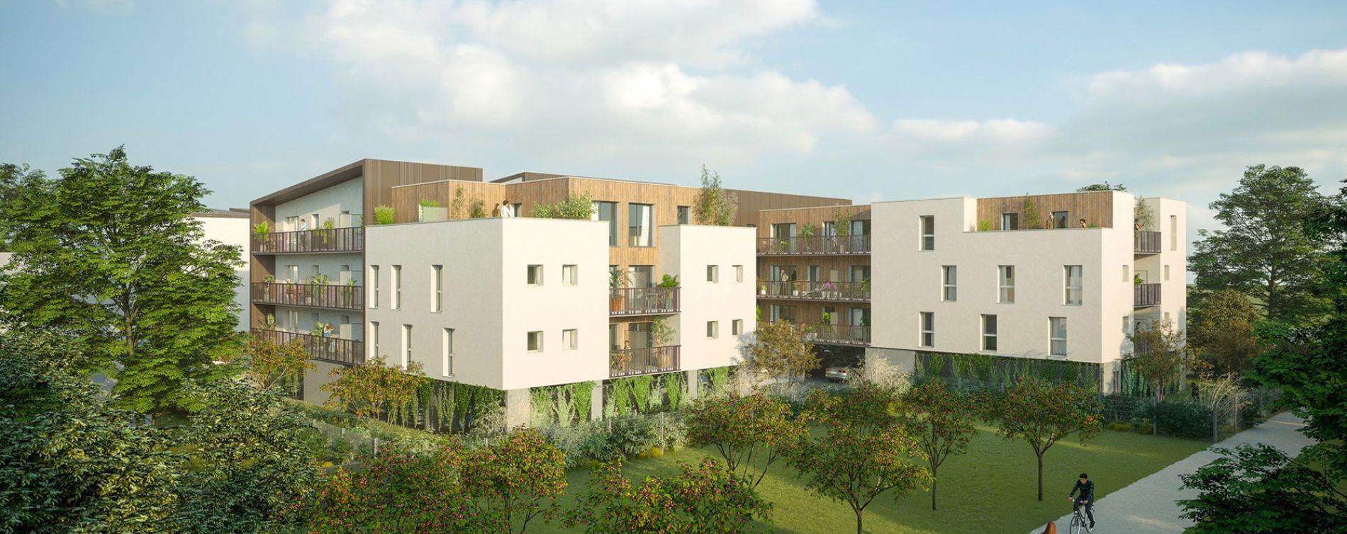 Saran : programme immobilier neuve « You Green » en Loi Pinel