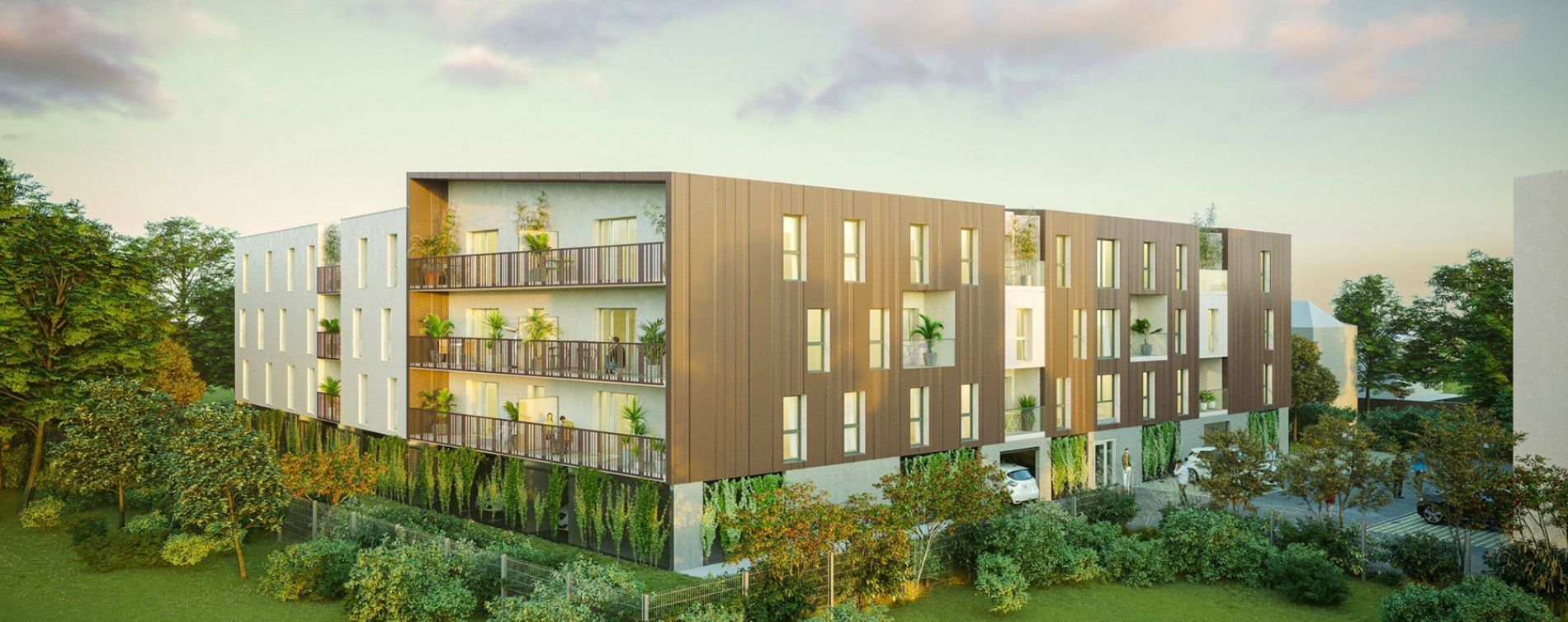 Saran : programme immobilier neuve « You Green » en Loi Pinel (2)