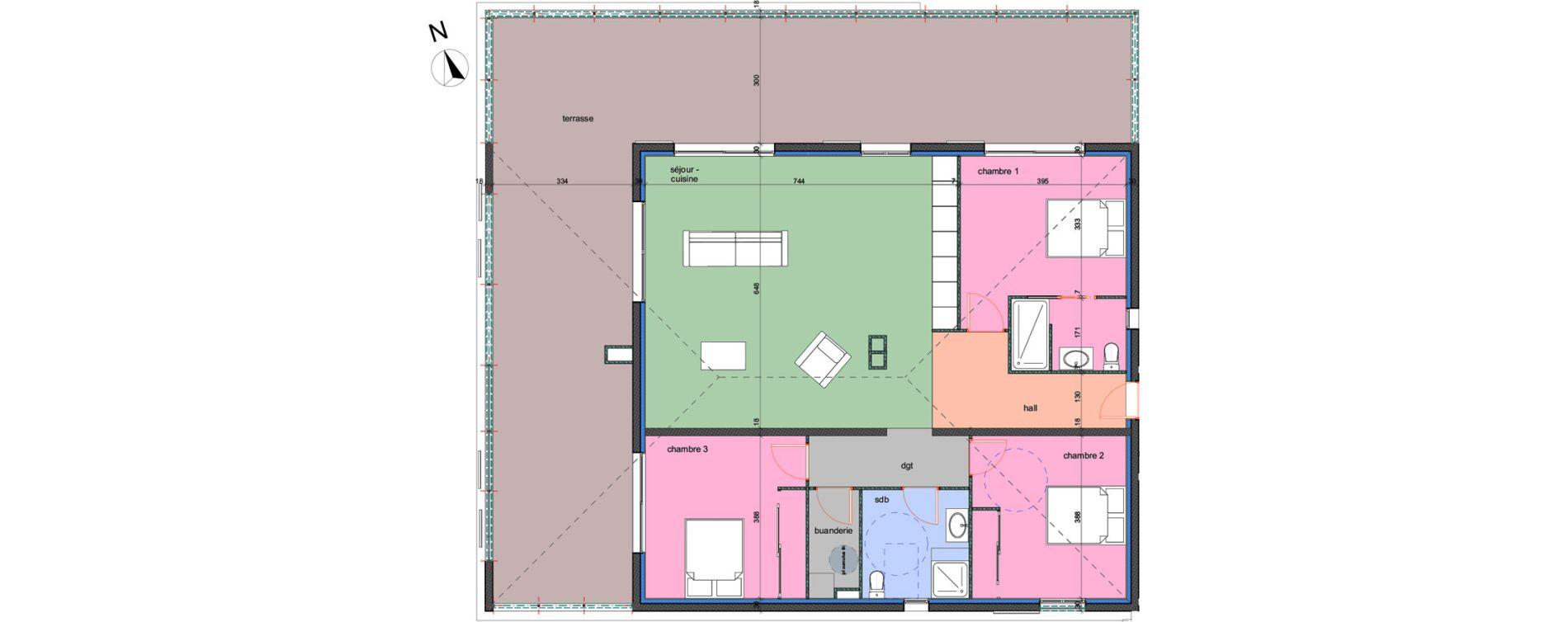 Appartement T4 de 117,10 m2 à Porto-Vecchio Centre