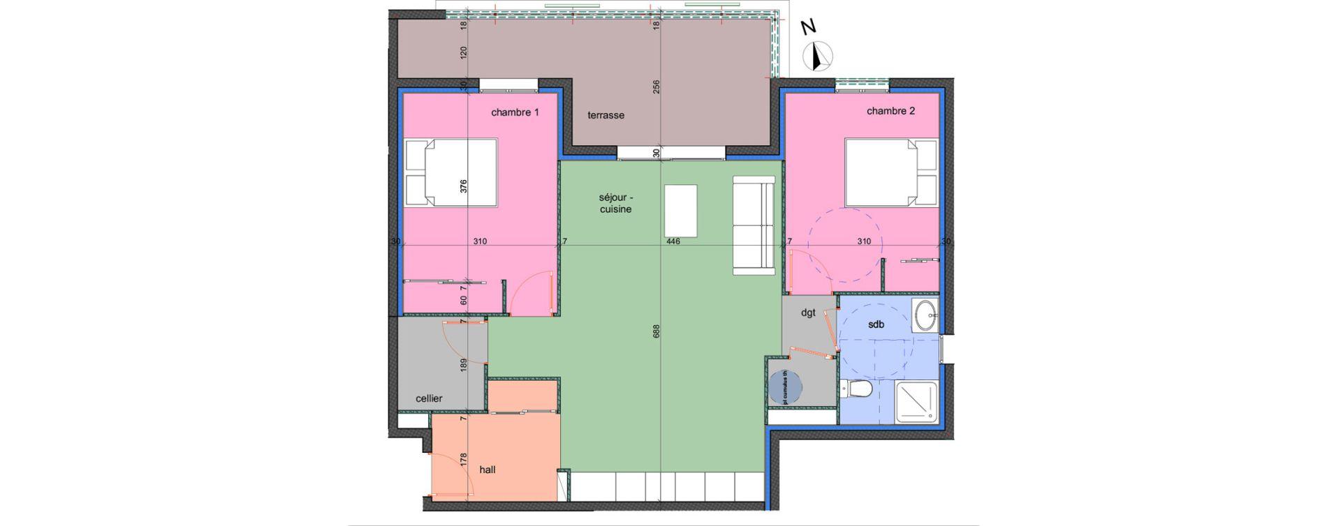 Appartement T3 de 74,50 m2 à Porto-Vecchio Centre