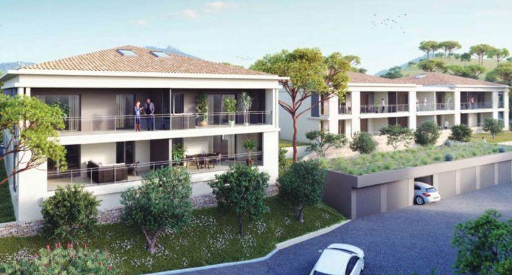 "Propriano : programme immobilier neuf « Bel'Orizonte ""I"" » en Loi Pinel"