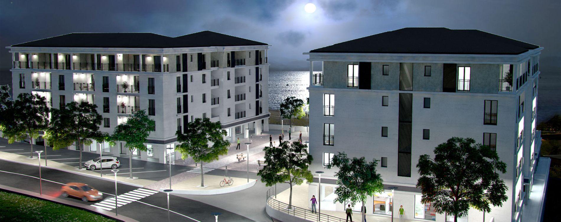 Bastia : programme immobilier neuve « Miramare » en Loi Pinel