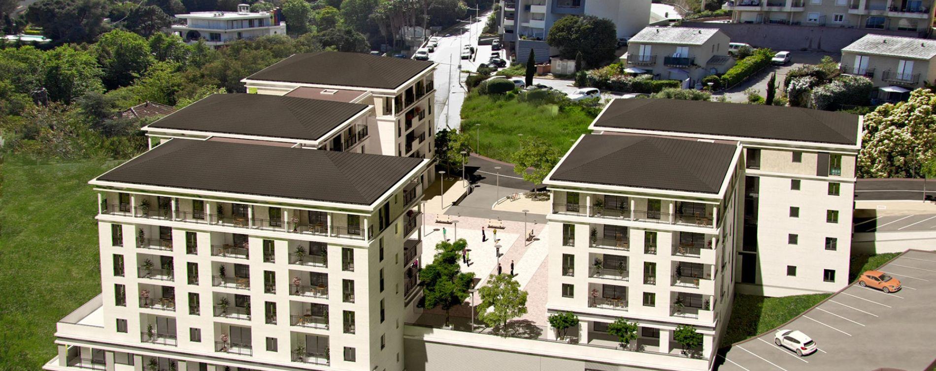 Bastia : programme immobilier neuve « Miramare » en Loi Pinel (3)