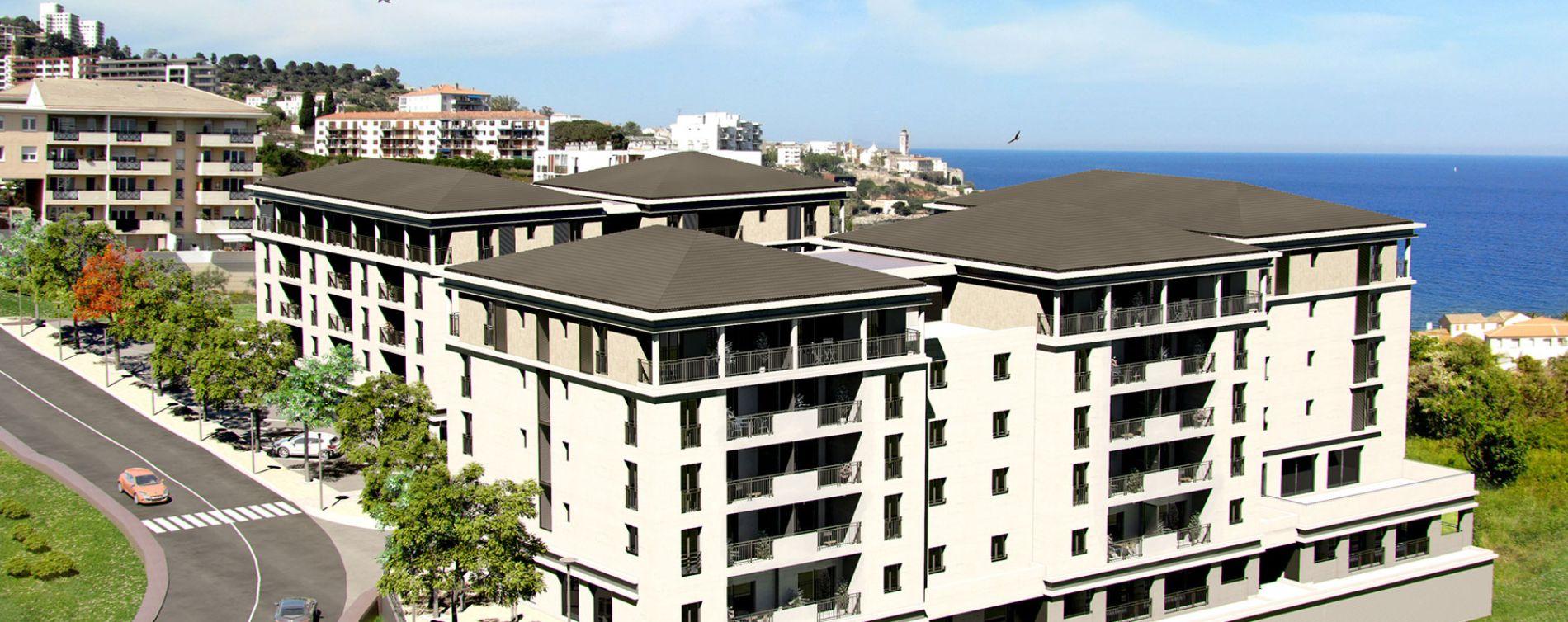 Bastia : programme immobilier neuve « Miramare » en Loi Pinel (4)
