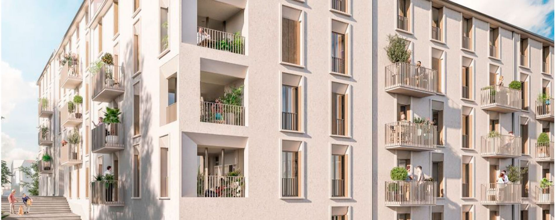 Calvi : programme immobilier neuve « A Citadella 2 » (2)