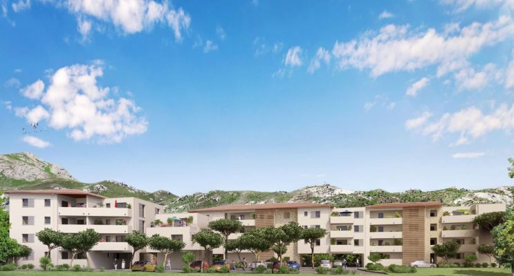 Photo du Résidence « Elisa » programme immobilier neuf en Loi Pinel à Calvi
