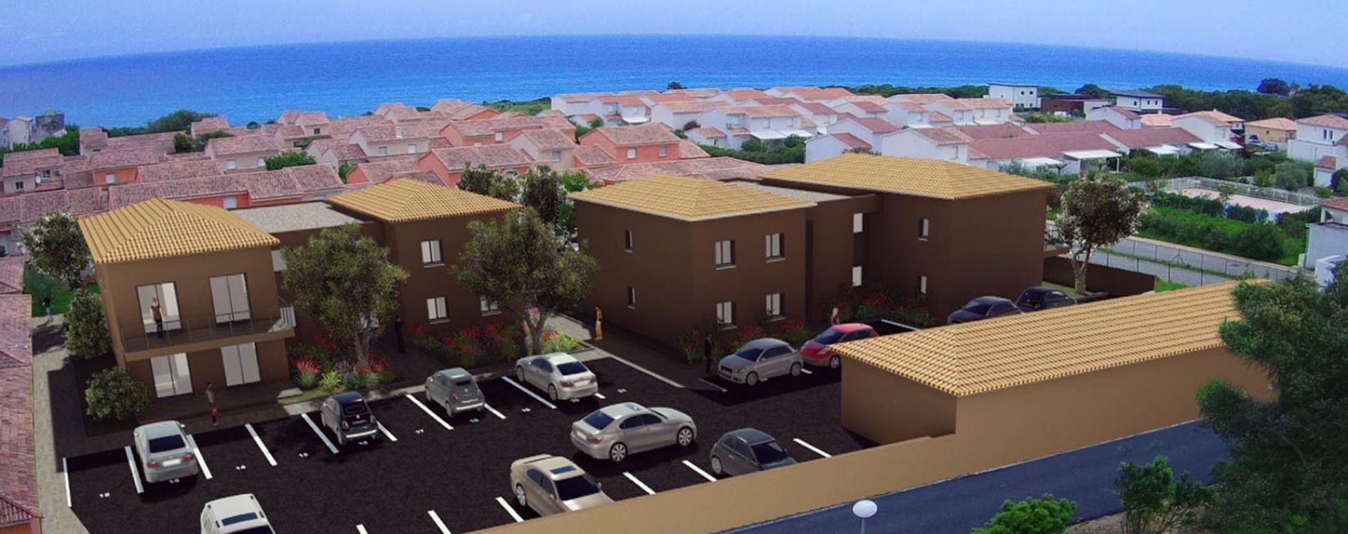 Cervione : programme immobilier neuve « Montecristo »